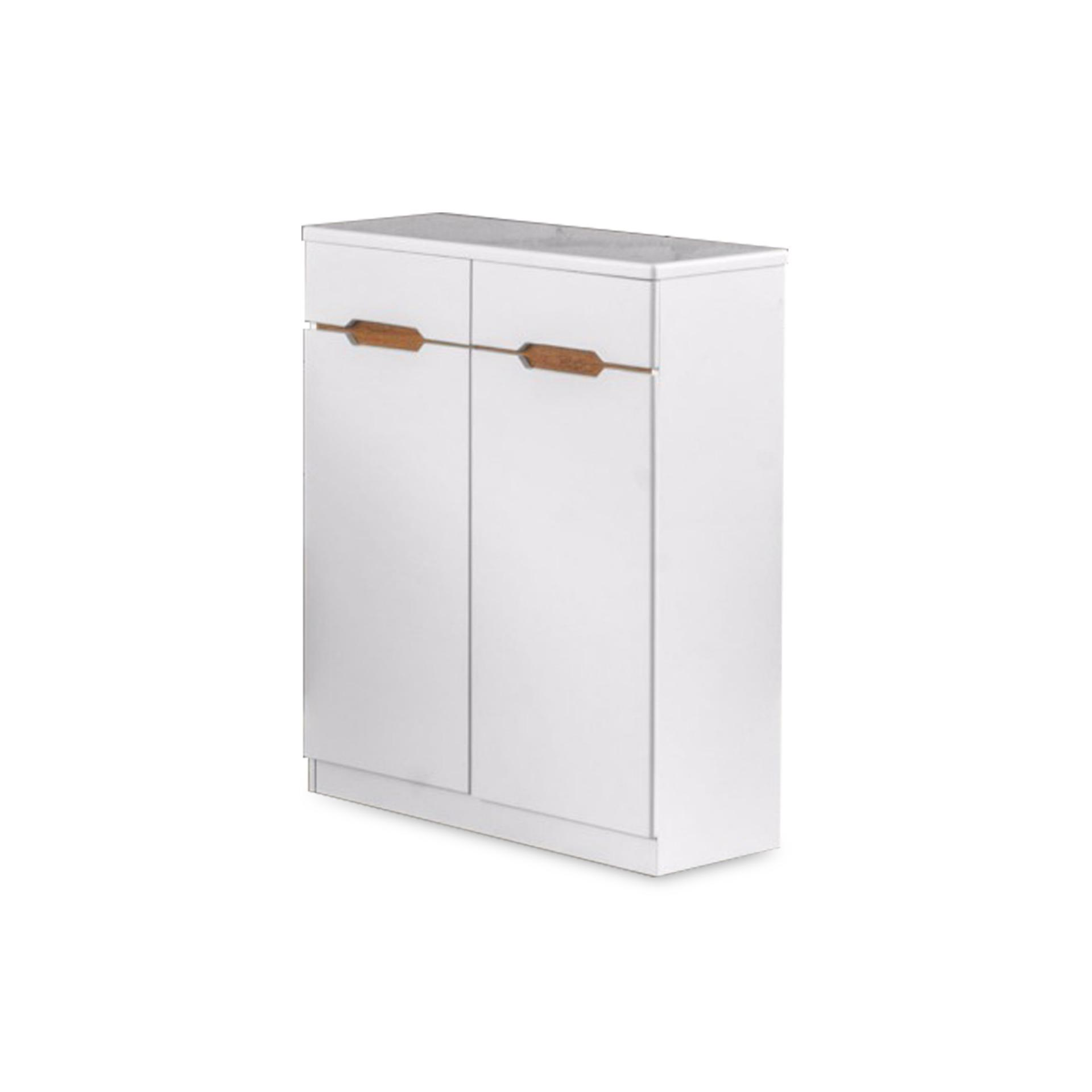 Aluin 2 Doors Shoe Cabinet (FREE DELIVERY)(FREE ASSEMBLY)