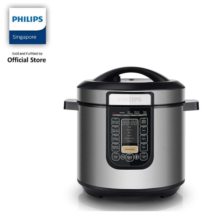 Philips Viva Collection All-In-One Cooker - Hd2137/62 By Philips Official Store Sg.