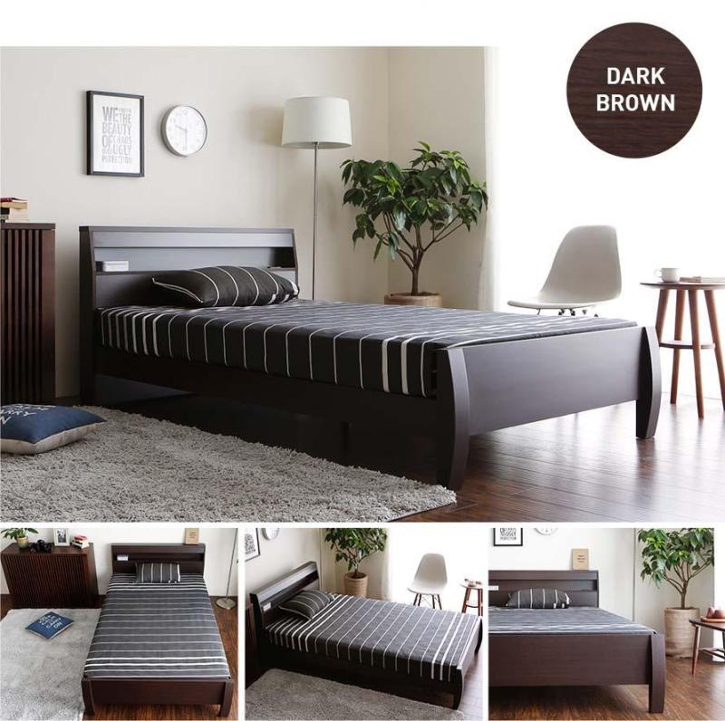 Menuet Japanese Wooden Bed (Japan Size)