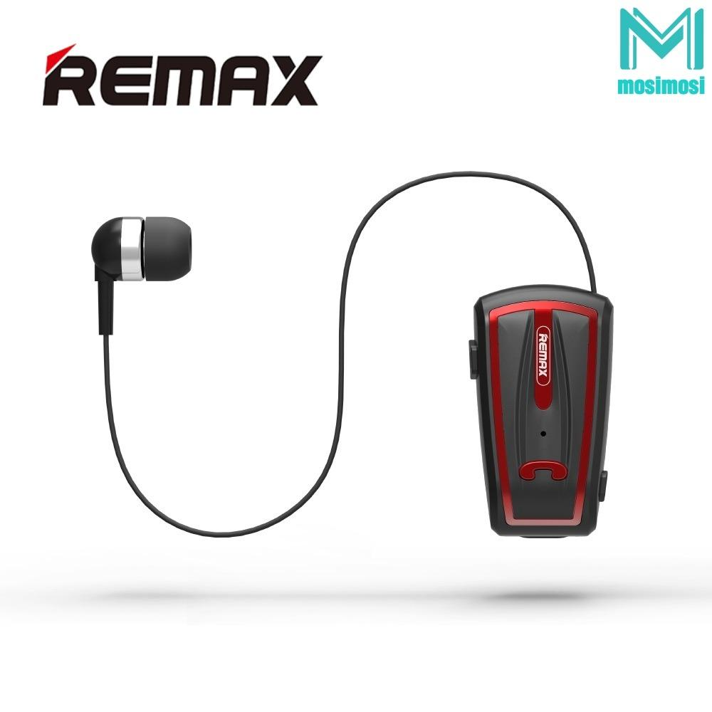 Price Remax Rb T12 Collar Clip Type Bluetooth Earphone Online Singapore