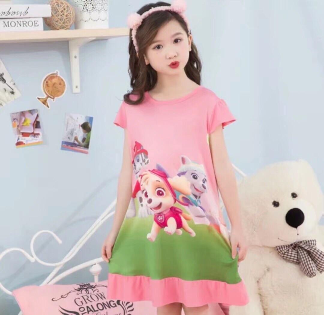 Sale Kids Dress Paw Patrol Pajamas Dress Oem Wholesaler