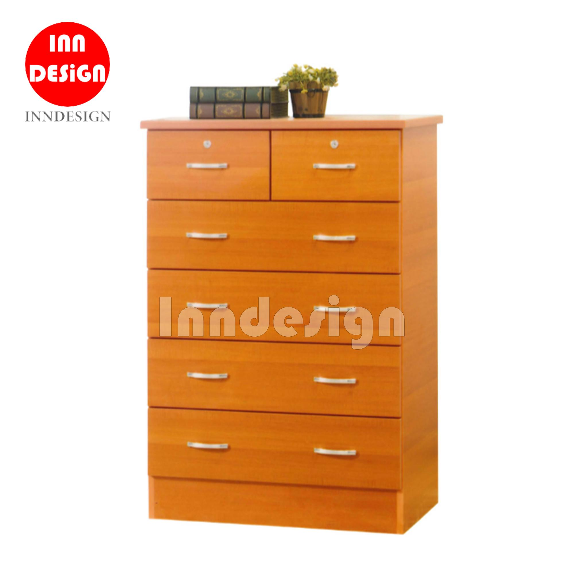 Carousel Sliding Dressing Table with 6 Drawers (Free Delivery and Installation)