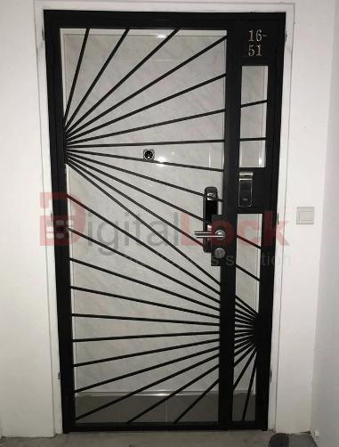 VIP DESIGN 3 MILD STEEL HDB GATE (4 x 7)