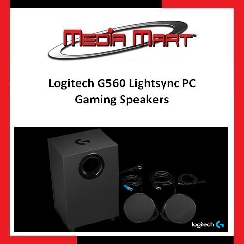 Logitech G560 Lightsync PC Gaming Speakers Singapore