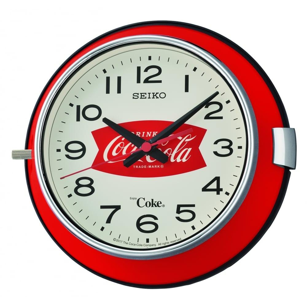 Seiko QXA923R Coca-Cola Analog Wall Clock