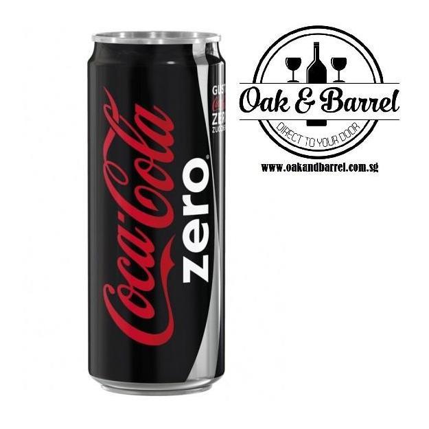 Buy Coca Cola Zero 24 Cans X 330Ml Coca Cola Cheap