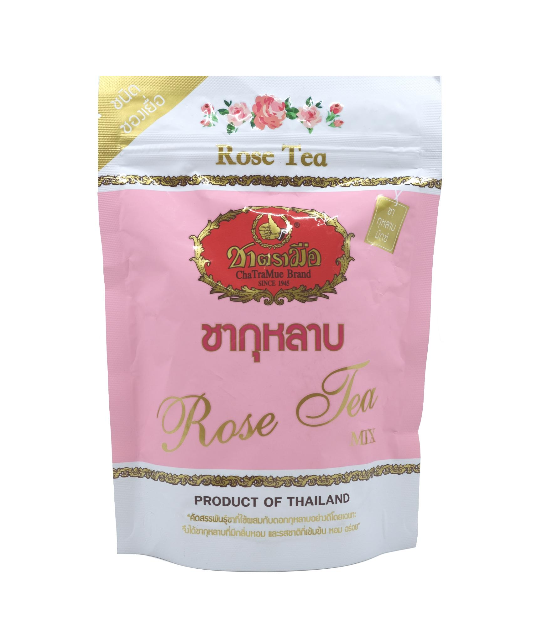 Thai Cha Tra Mue Rose Tea Mix – 30 Teabags By Ctfs Online.