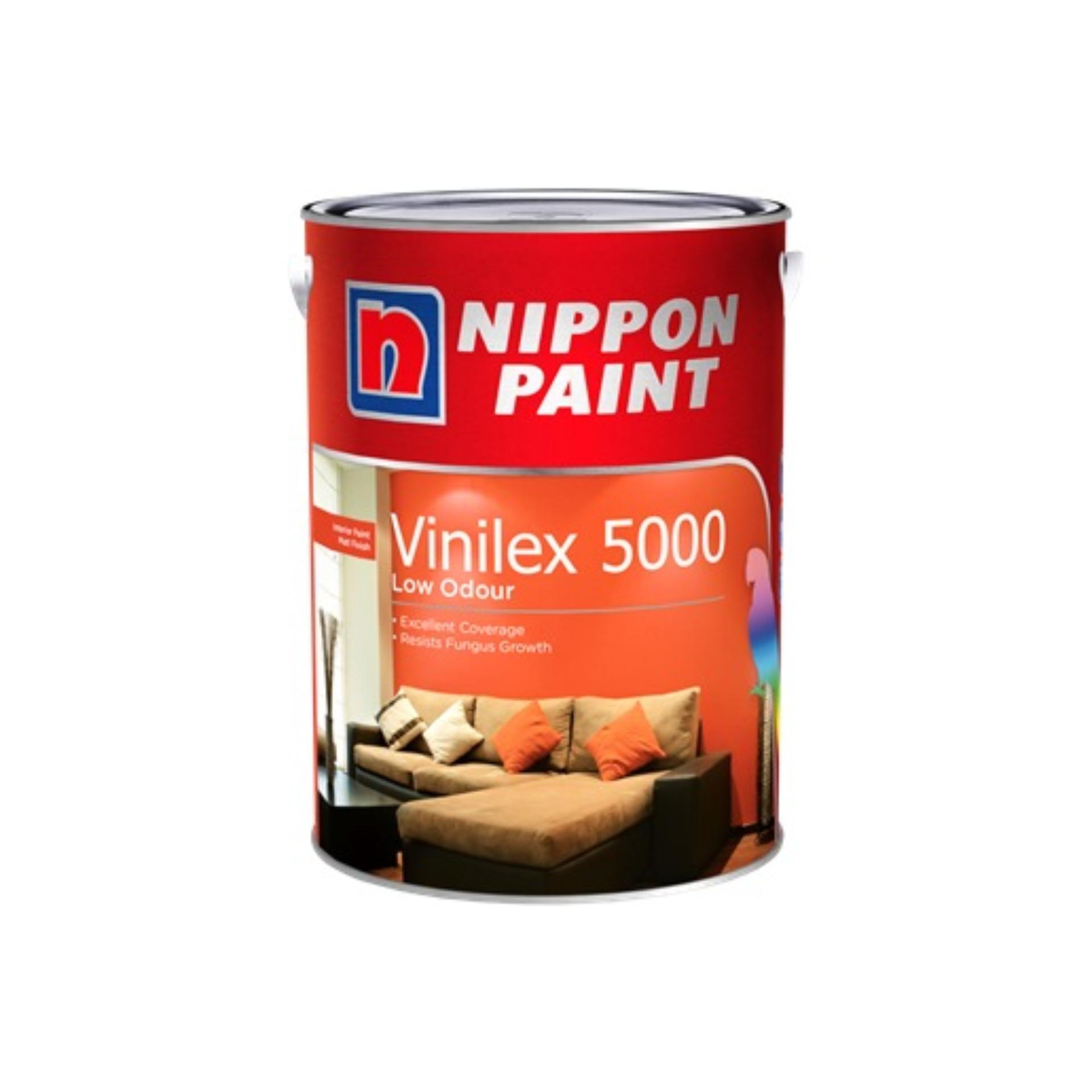 Nippon Paint Vinilex 5000 - Base Y - Cadmium Yellow 3178 - 5L