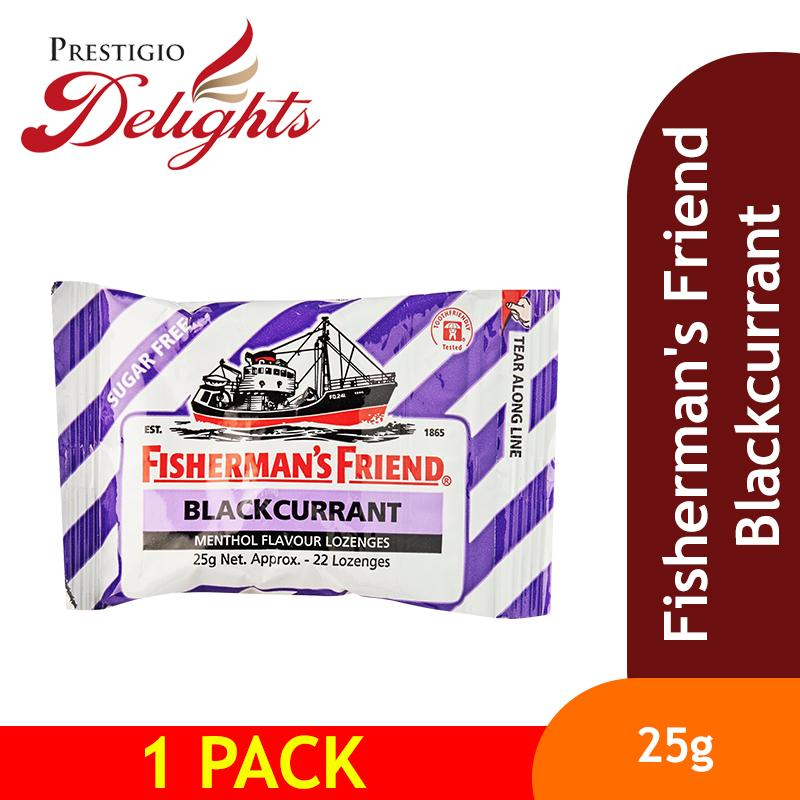 Fishermans Friend Blackcurrant By Prestigio Delights.