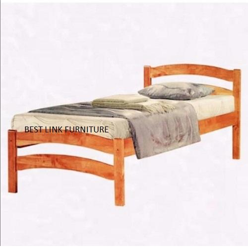 BEST LINK FURNITURE BLF 29 Wooden Single Bed Frame