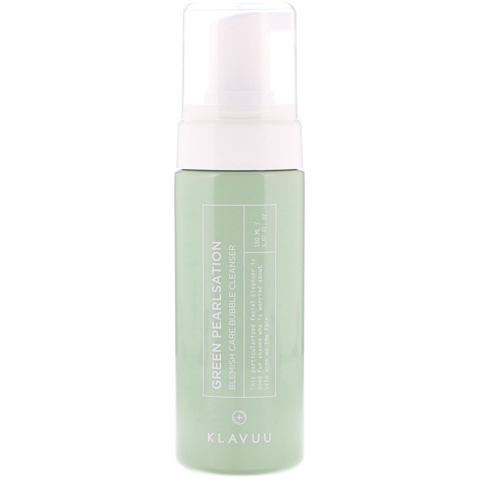 Klavuu Green Pearlsation Blemish Care Bubble Cleanser (150ml) - MissDewy