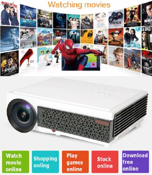 Free Game Controller Hd 1280X800 3000 Lumens Movie Karaoke Gaming Projector Deal