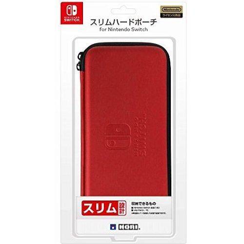 Nsw 009 Hori Nintendo Switch Slim Hard Pouch Red Jp Review