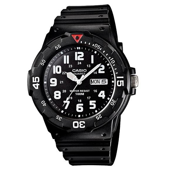 Casio Mrw-200h-1bvdf Mens Black Nylon Watch Mrw-200h-1b By Luxolite.