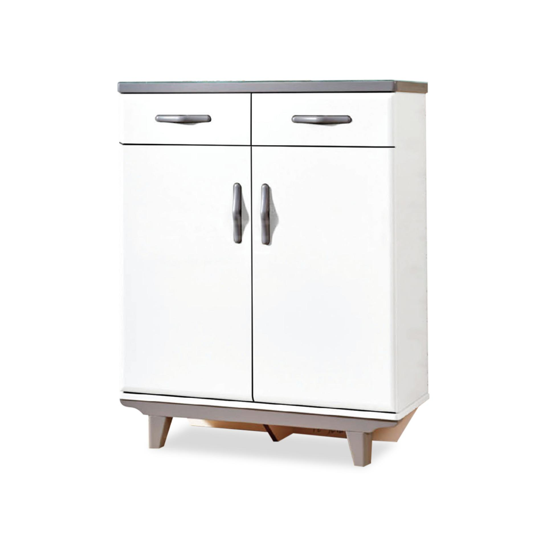 Sophie 2 Door Shoe Cabinet (FREE DELIVERY)(FREE ASSEMBLY)