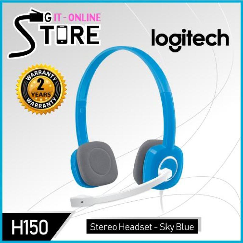 Logitech Stereo Headset H150 Sky Blue Singapore