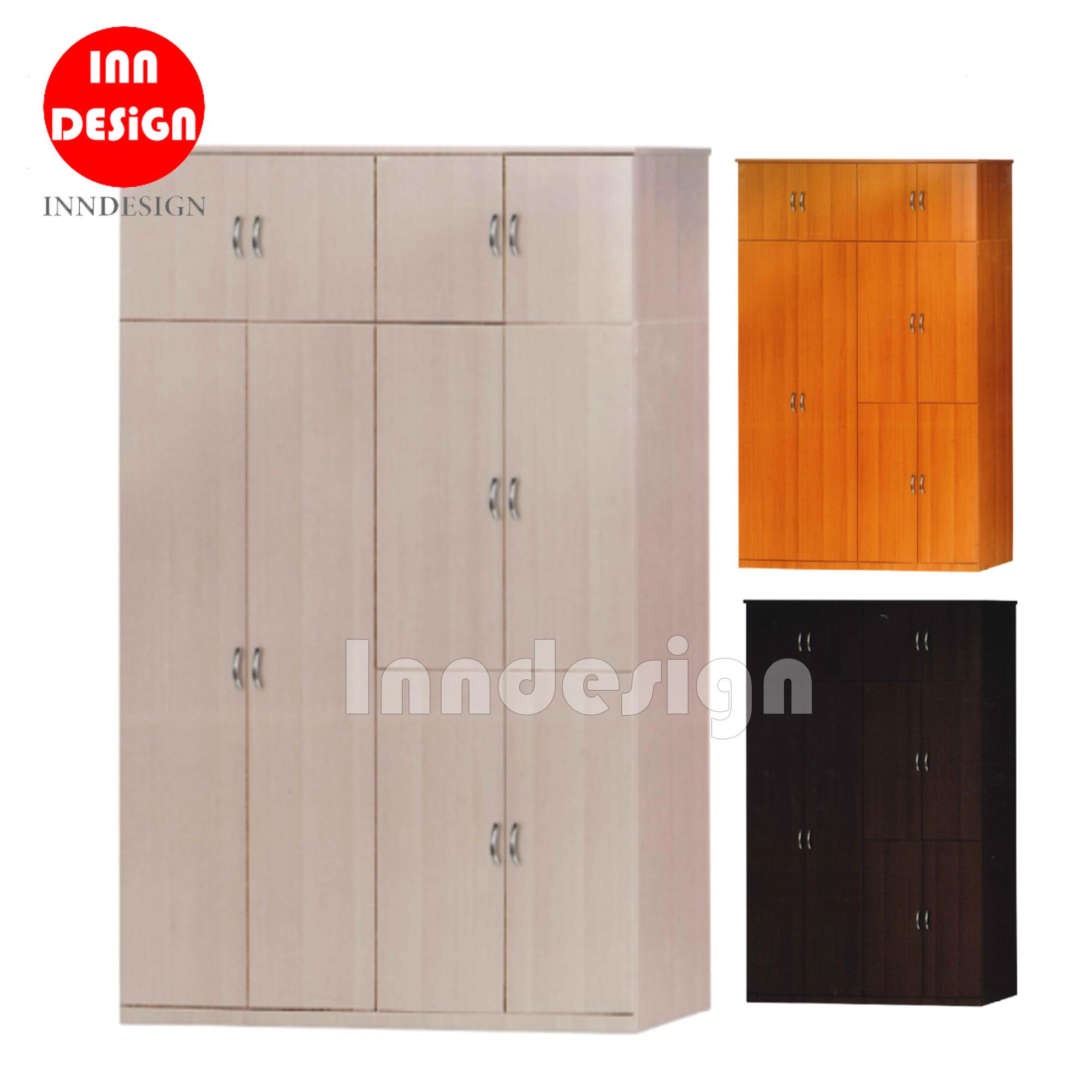 EIFEL 10 DOORS WARDROBE / OPEN WARDROBE (Free Delivery and Installation)