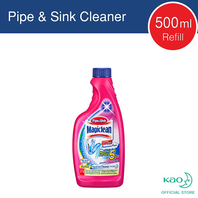 Magiclean Sink&pipe Cleaner Refill 500ml By Kao.