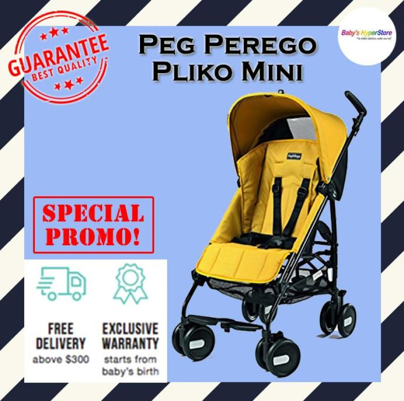 Peg Perego Pliko Mini Stroller - MADE IN ITALY - Local seller warranty 1 YEAR Singapore