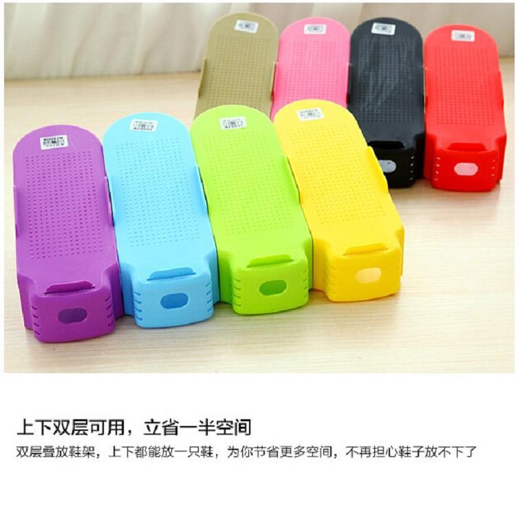 Colorful Shoe Rack Organizer 4 Pcs or 7 Pcs Set (HM1004) Singapore Seller + 100% Authentic