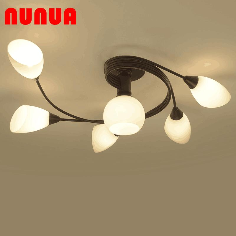 Modern Minimalist Restaurant Bedroom LED Ceiling Lamp Living Room Lights