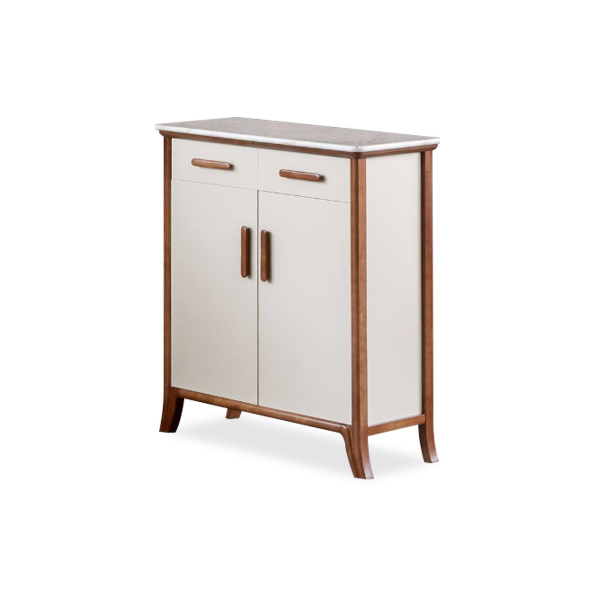 Aloin 2 Doors Shoe Cabinet (FREE DELIVERY)(FREE ASSEMBLY)