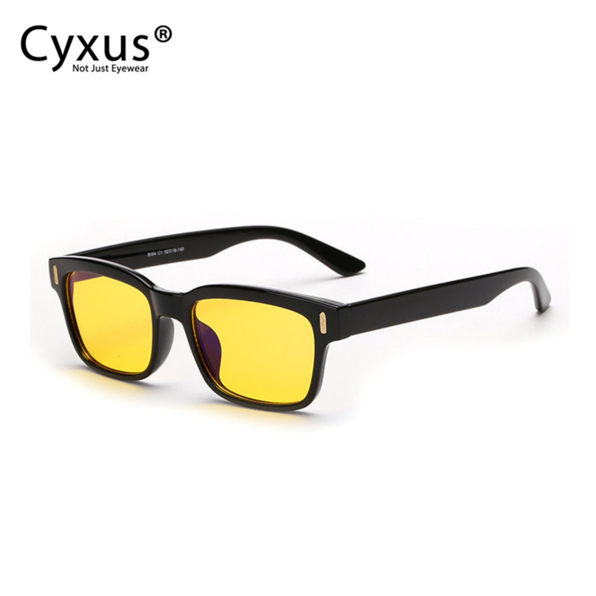 Where Can You Buy Cyxus Yellow Lens Computer Glasses Blocking Blue Light Uv Anti Fatigue Headaches Black Frame Gaming Reading Eyewear