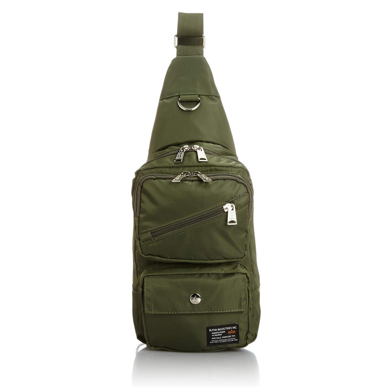 a1e4953c5eb ALPHA INDUSTRIES Japan Quality Nylon Material Cross Body Bag Waist Pack  12689059