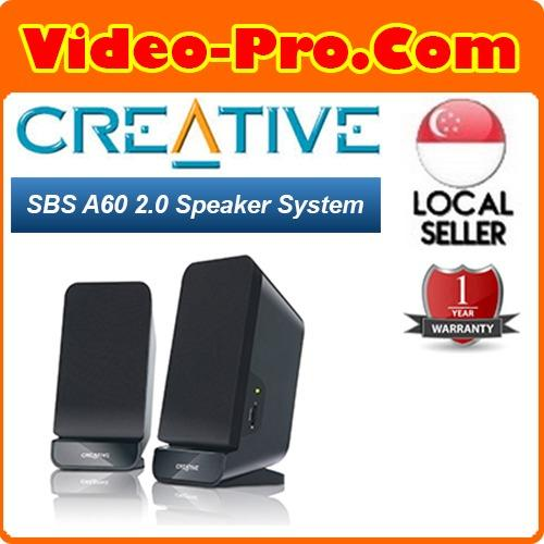 Discount Creative Sbs A60 2 Speaker System Creative Singapore