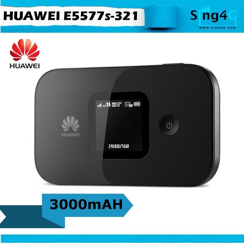 Huawei E5577 3000mah Extend Battery 4g Mifi Portable Hotspot By Sing4g.
