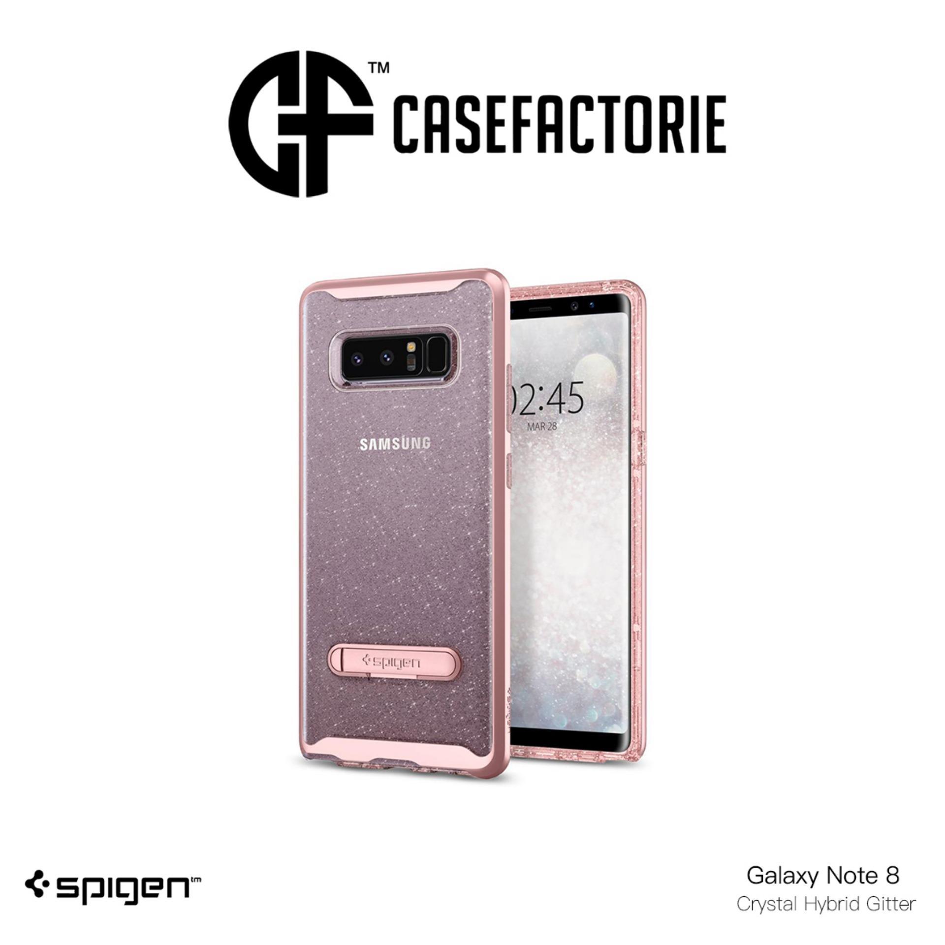 Best Buy Spigen Crystal Hybrid Glitter Case For Samsung Galaxy Note 8
