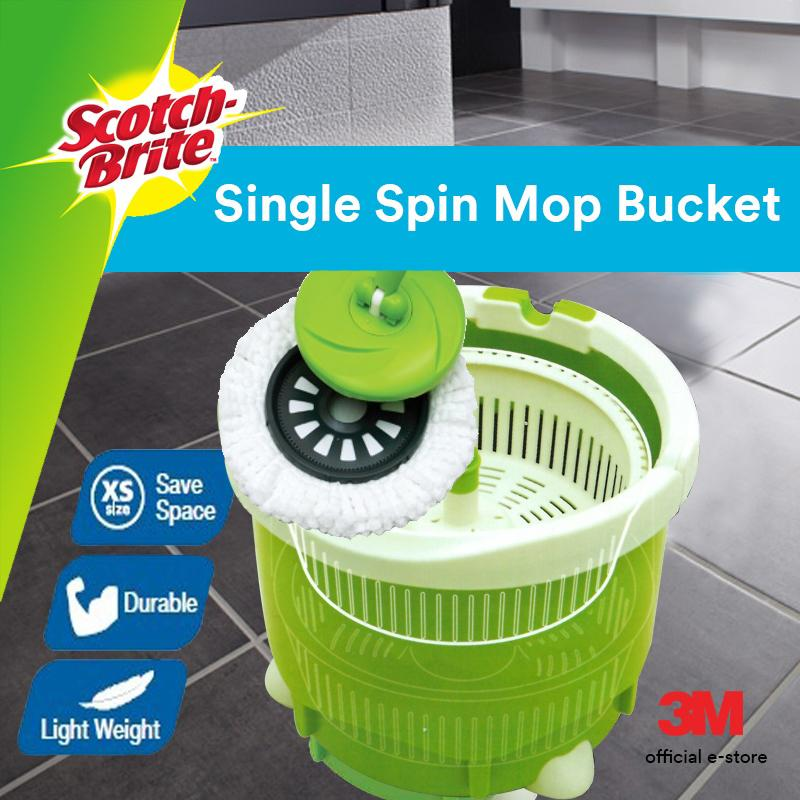Top Rated 3M™ Scotch Brite™ Single Bucket Spin Mop
