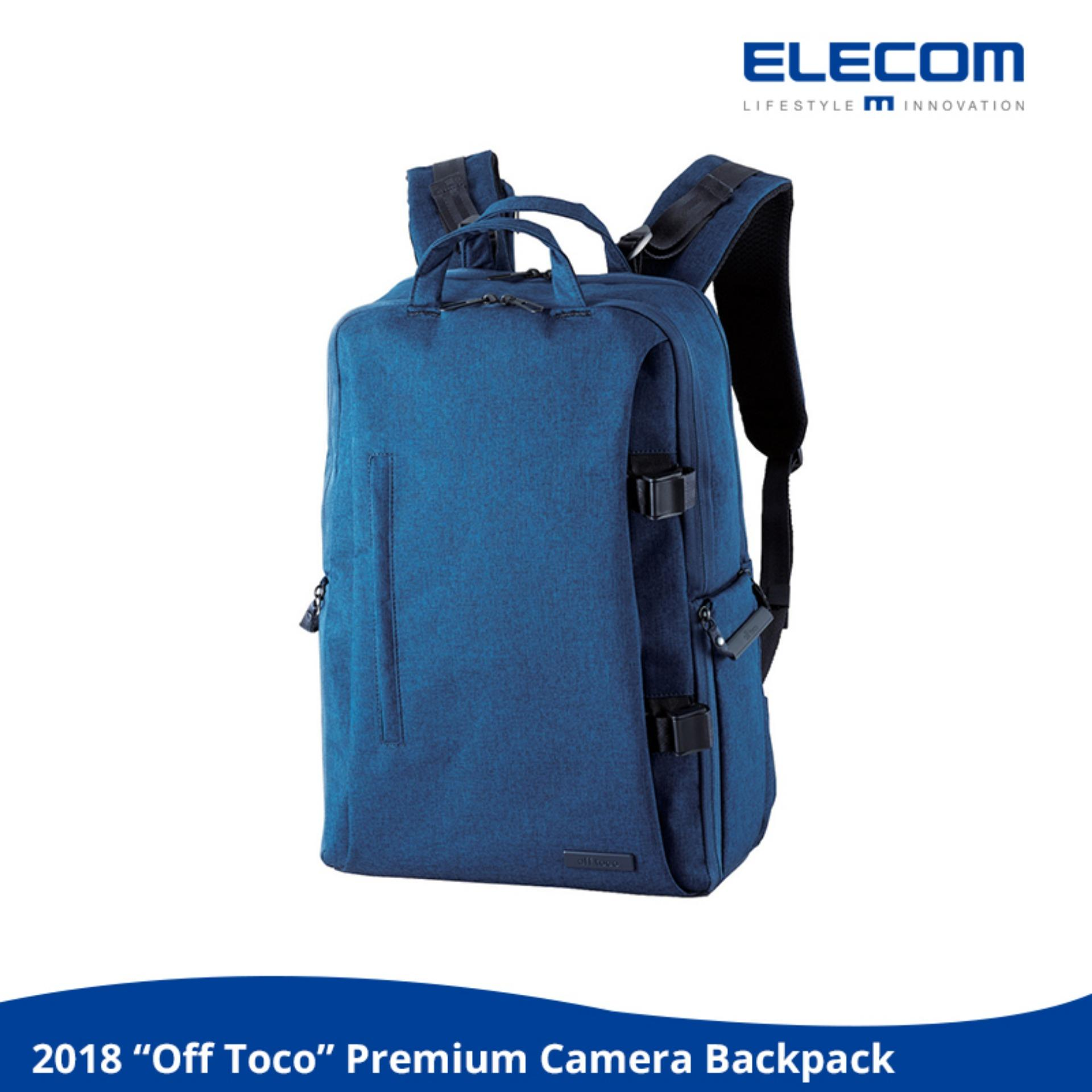 Compare Price Elecom Off Toco Premium Camera Backpack L Size 2018 New Model Laptop 15 6Inch Water Resistance Dslr Photography Video Nikon Sony Canon On Singapore