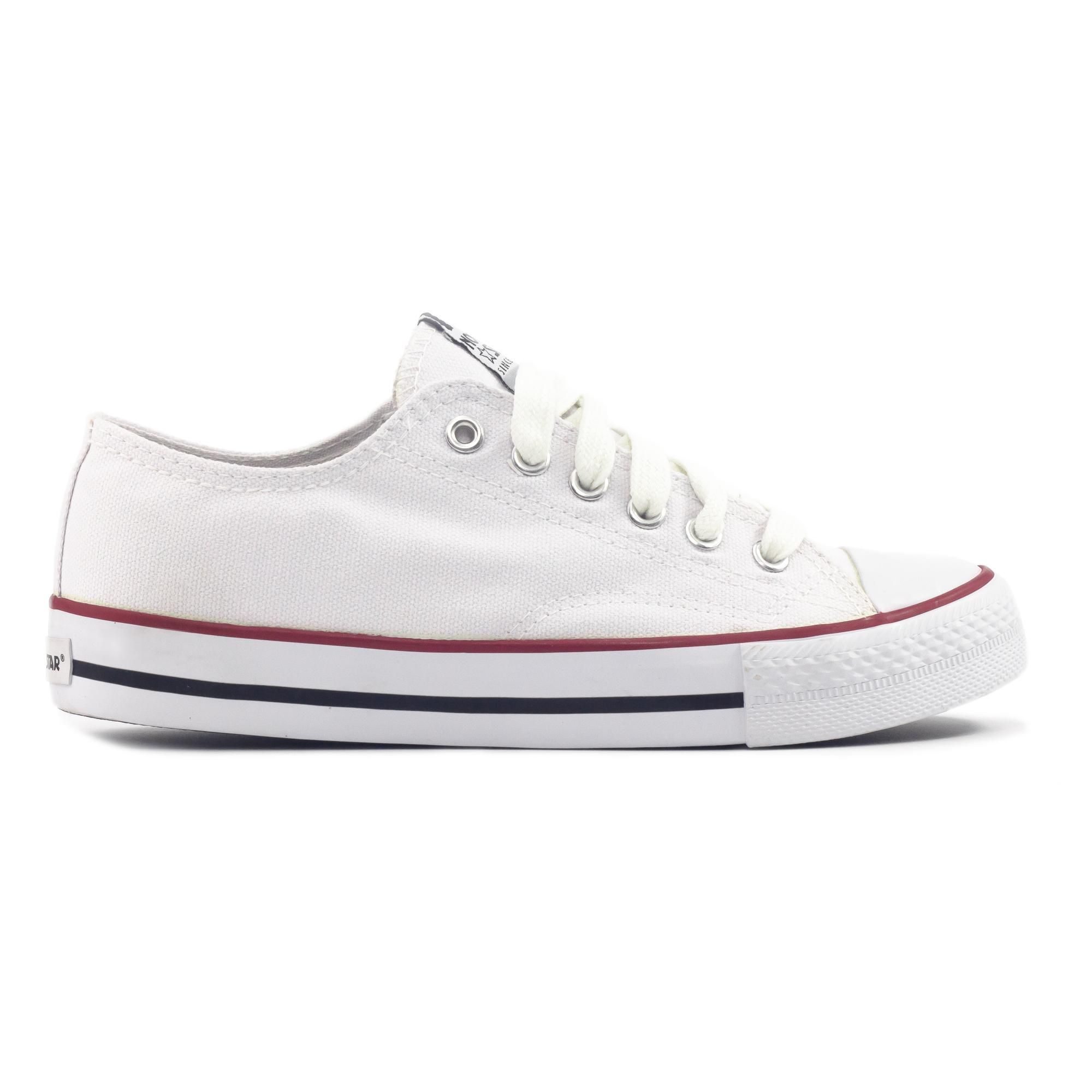 961967f9efb4 NORTH STAR YOUTH SCHOOL SHOES WHITE 5891192