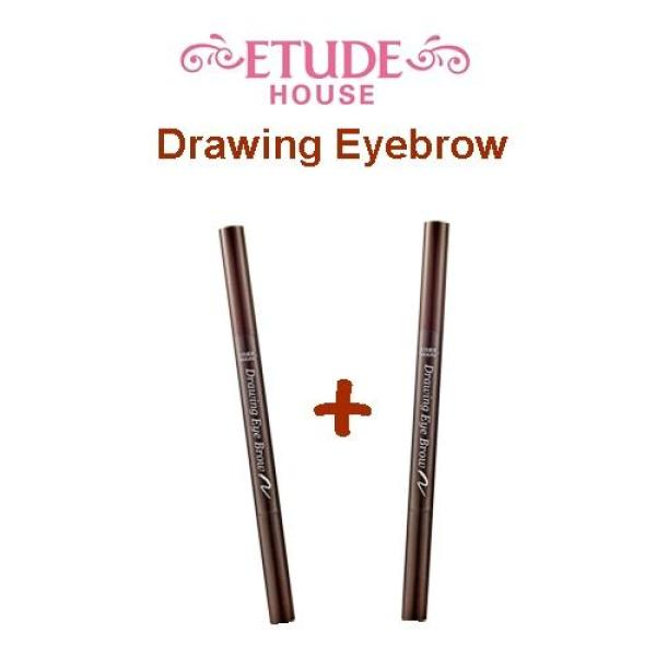 Buy 2 pcs X Etude House Drawing Eyebrow - 03 Brown Singapore