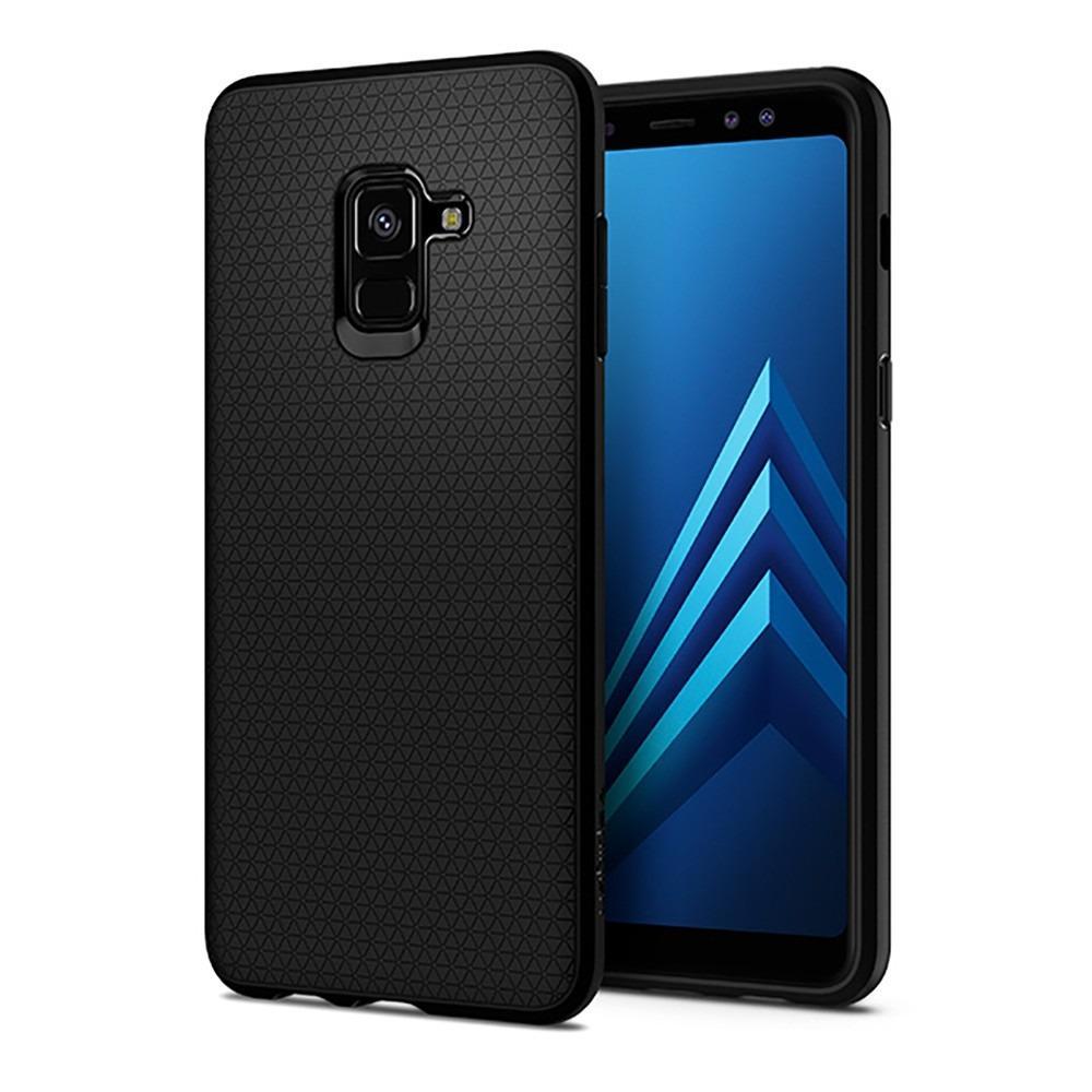 Retail Spigen Samsung A8 Plus 2018 Liquid Air Case Authentic