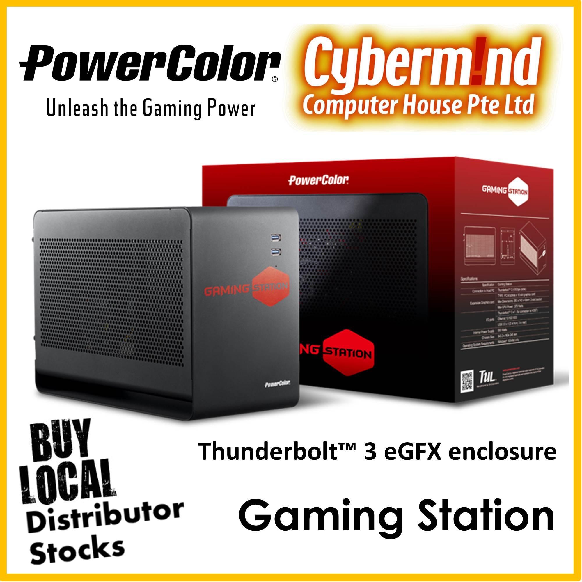 Powercolor Red Dragon Rx570 4gb Gddr5 Singapore Vga Devil Radeon Rx 570 Gaming Station Tb3 External Graphics Enclosure