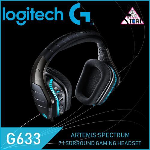 Buy Logitech G633 Artemis Spectrum Rgb 7 1 Surround Gaming Headset