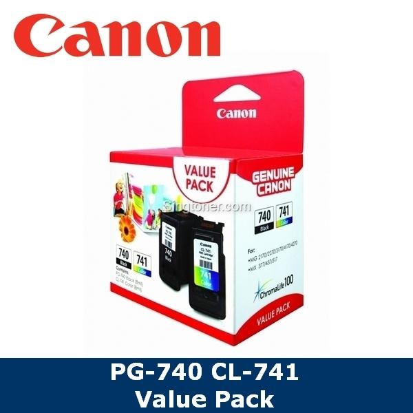 [original] Canon Pg-740 Cl-741/pg740 Cl741/pg 740 Cl 741 Black Color Ink Cartridge For Pixma Mg2170 Mg2270 Mg3170 Mg3270 Mg3570 Mg3670 Mg4170 Mg4270 Mx377 Mx397 Mx437 Mx457 Mx 477 Mx517 Mx527 Mx537 Ts5170 E500 By Singtoner.