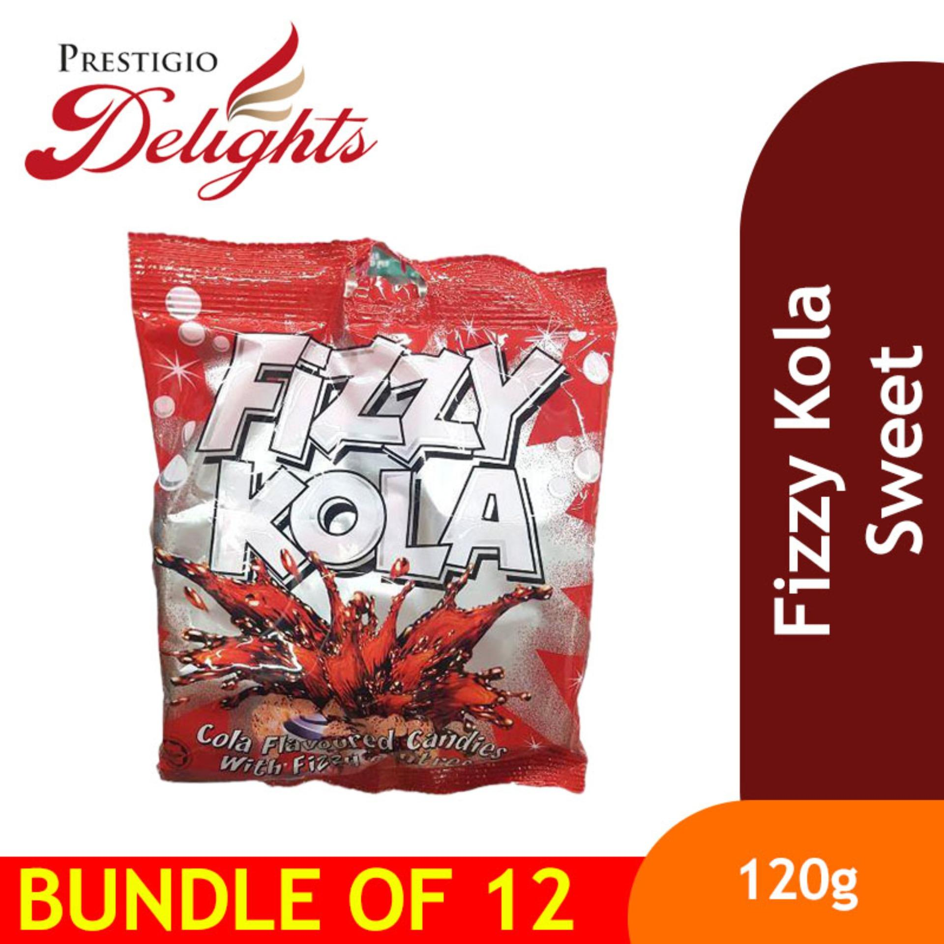 Fizzy Kola Sweet Bundle Of 12 By Prestigio Delights.