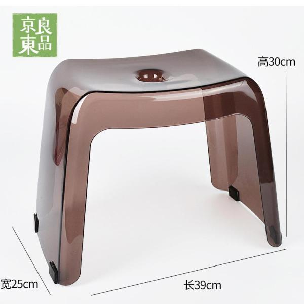 Japan Thickened Bathroom Stool Plastic Anti-slip Low Stool Doorway Footstool Children Adult Bath Bench Square Stool