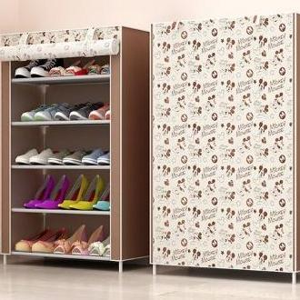 Shoe Rack/Shoe Shelf/Shoe Cabinet Dust Durable and WaterProof (4 Tier/5 Tier) Perfect for Placing outside of HDB house out