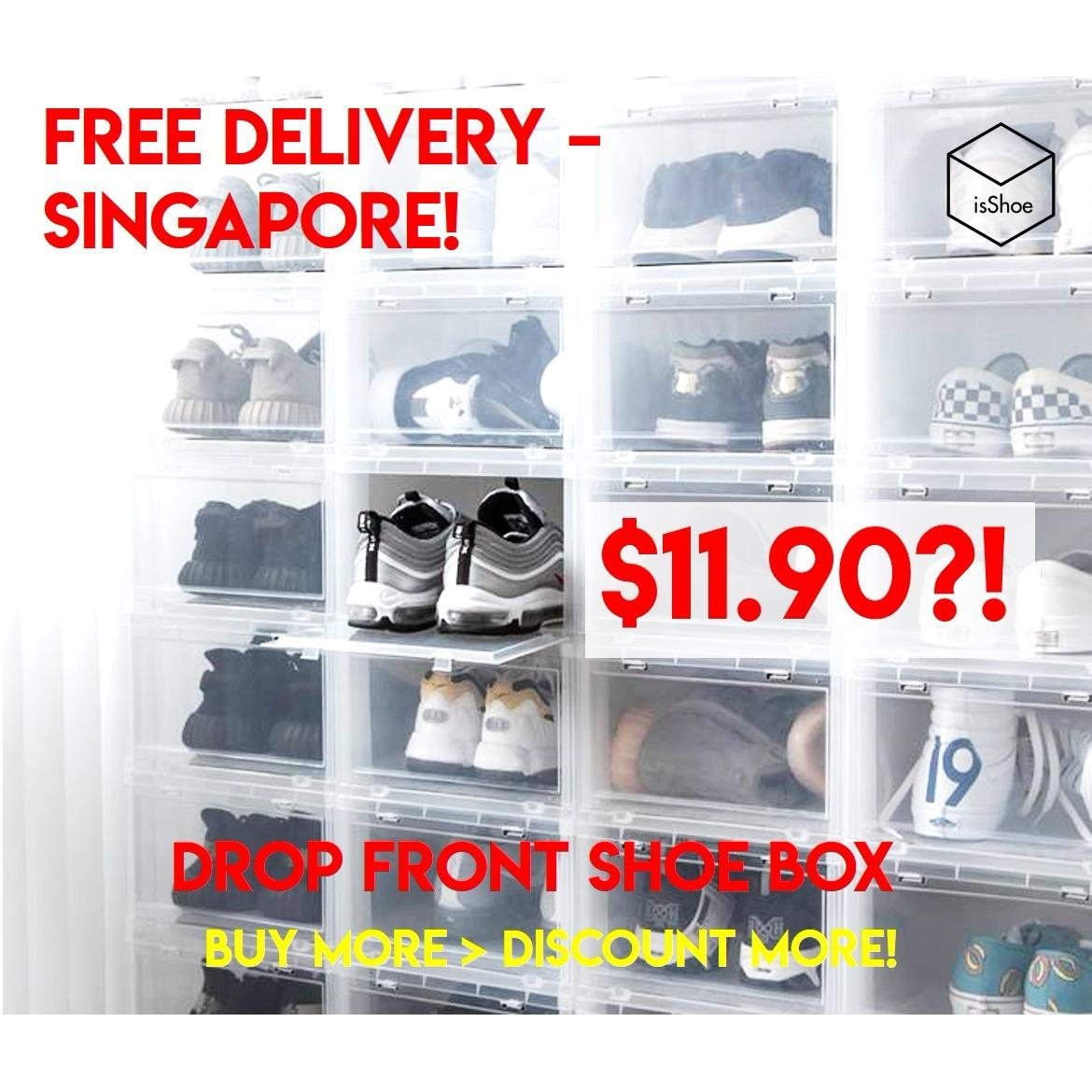 Latest Dropfront Shoe Box Ador Dropfront Shoe Box 6Pcs