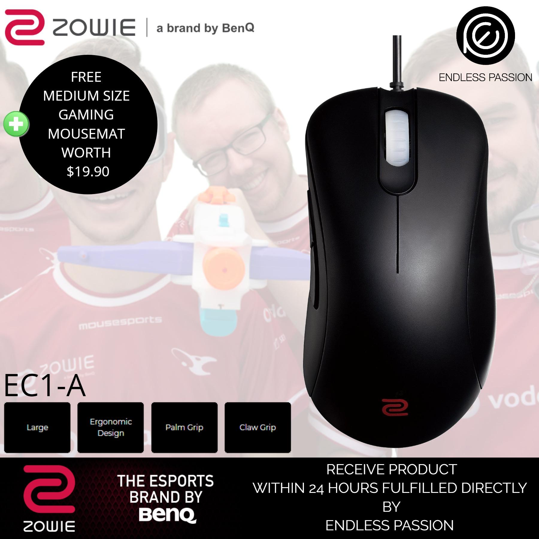 Top Rated Benq Zowie Ec1 A Esports Gaming Mouse Black White