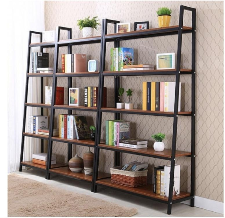 JIJI (Free Installation) Hessa Bookcase Rack (4/5 Tiers) (Shelving Racks) - Shelves / Bookcases / Bookshelf / Storage / Organizer /Furniture /Open Cabinet/ Free 12 Months Local Warranty (SG)