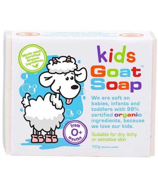 Goat Soap Kids Value Pack (4 X 100g Soap Bars) By Australia Health Warehouse.