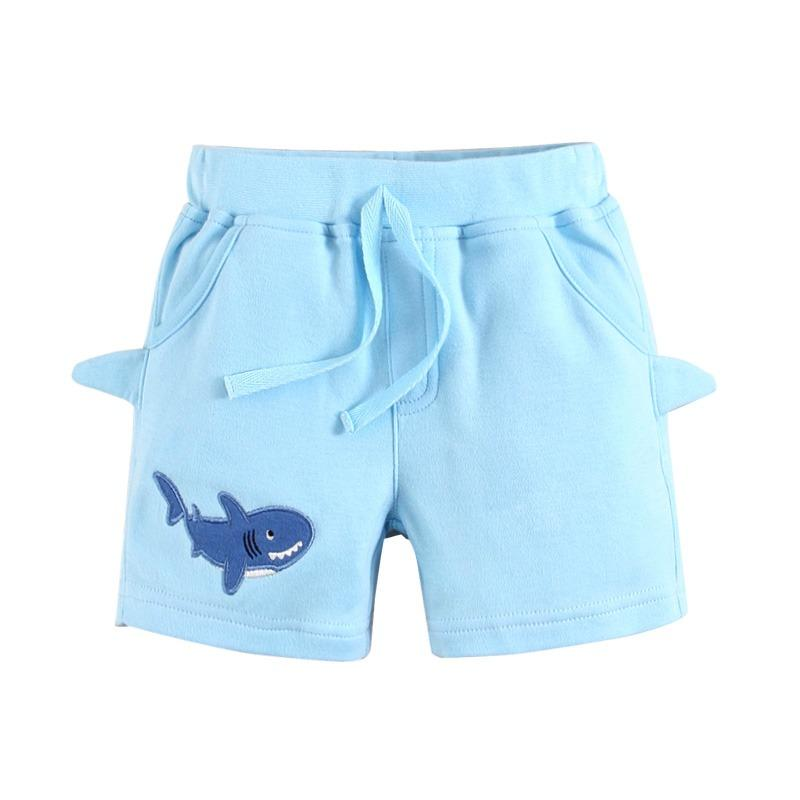 Mom And Bab Boy S Shark Collection Light Blue Shorts Price Comparison
