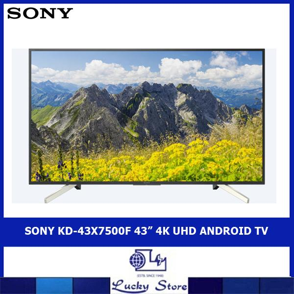 "SONY KD-43X7500F 43"" 4K UHD ANDROID TV"