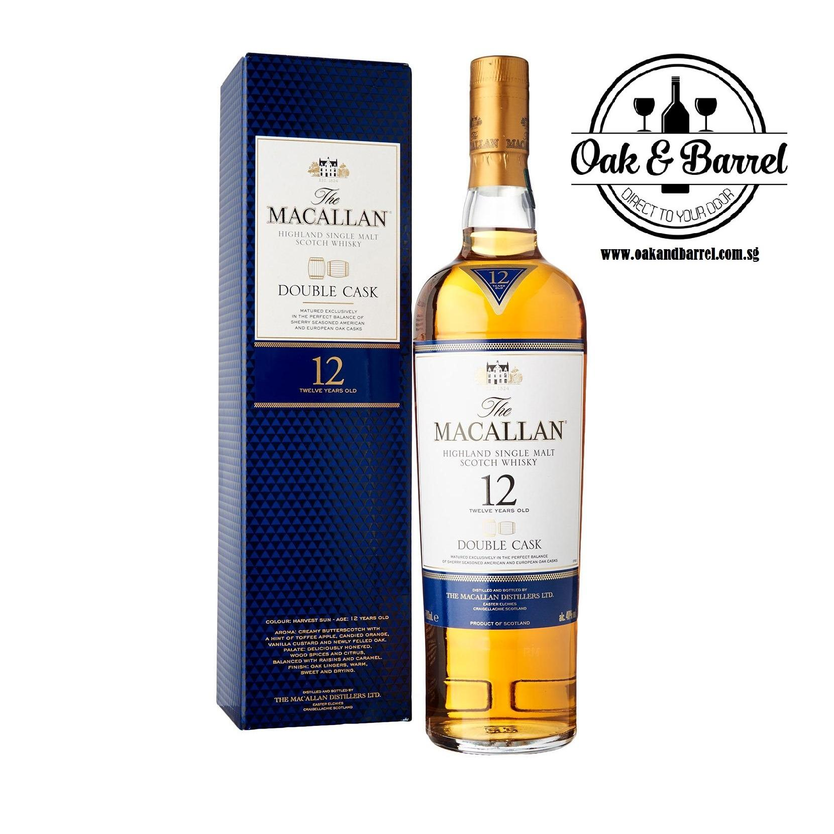 Sale Macallan 12 Years Double Cask 700Ml Singapore Cheap