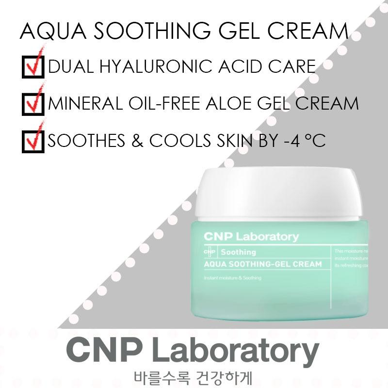 Sale Cnp Laboratory Aqua Soothing Gel Cream 80Ml Cnp Laboratory